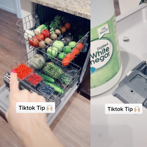 People Are Now Putting Their Fruits & Veg In The Dishwasher & Apparently You Should Too