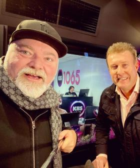 Peter Overton Catches Up With Kyle & Jackie O In Studio!