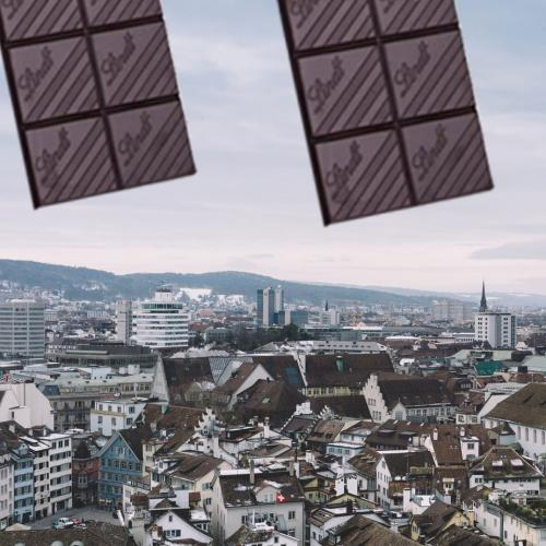 It's Literally Been Raining Chocolate In Switzerland...No, Literally!