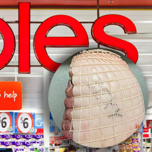 Coles Shopper Finds Cheeky Note In Her Coles Pork Roast