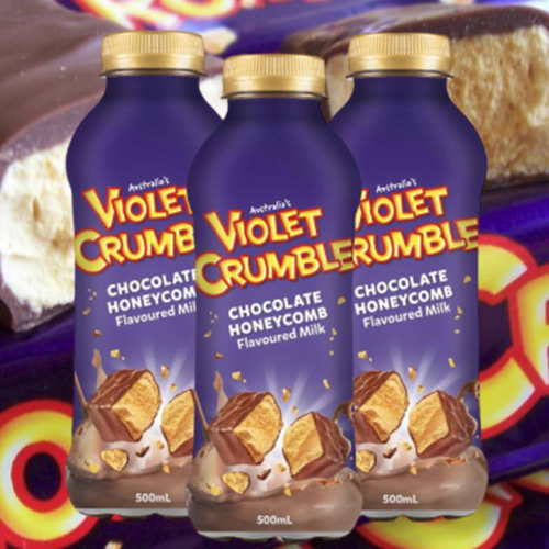 A New Violet Crumble Milk Drink Is Coming To Supermarket Shelves Soon!