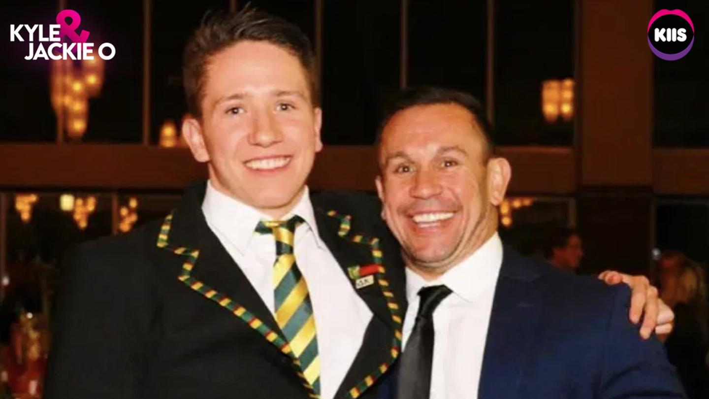 Only Lying - Matty Johns prank called by his son Cooper 🤐