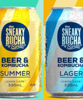 Kombucha Beer Exists So You Can Booze AND Have Great Gut Health Simultaneously!
