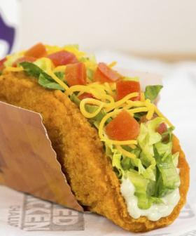 Taco Bell's Got Fried Chicken Taco Shells This Weekend! Wait... WHAT?
