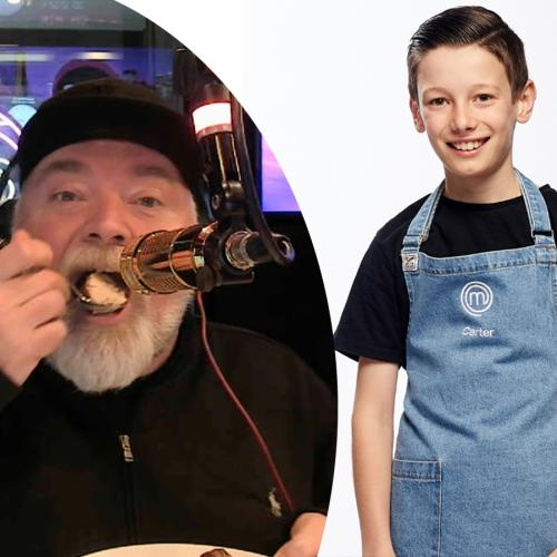 Junior Masterchef Contestant Surprises Kyle With His FAVOURITE Dessert!