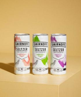 Smirnoff's Selling Summery Seltzers For Some Guilt-Free Boozin'