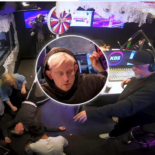 KIIS Producer Faints Live On Air!