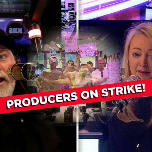 Absolute Chaos Erupts As Kyle & Jackie O Are Forced To Run Their Entire Show Alone As Their Staff STRIKE