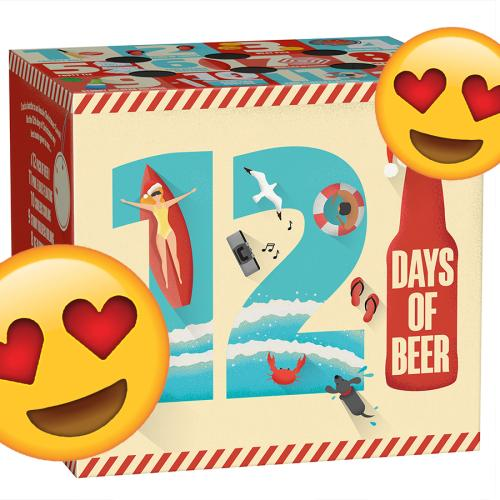 Beer Lovers Unite! You Can Now Purchase A BEER Christmas Advent Calendar