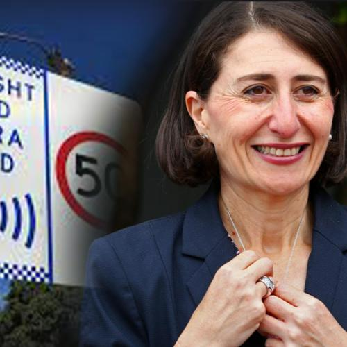 Premier Gladys Berejiklian Doubles Down On Decision To Get Rid Of Speed Camera Signs