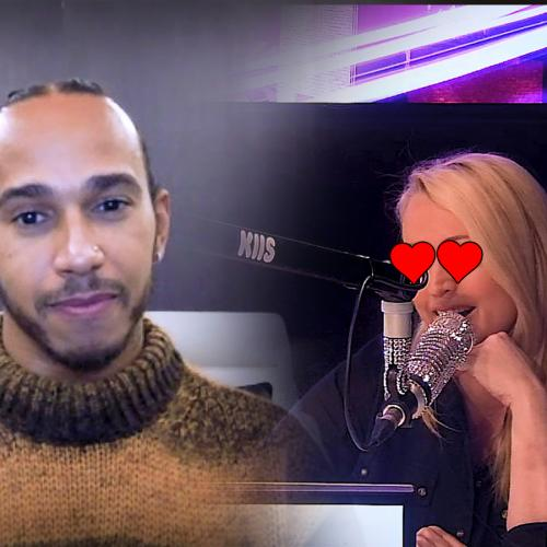 Jackie O Reveals Her INCREDIBLE Flirting Skills While Chatting To Formula 1 Star Lewis Hamilton