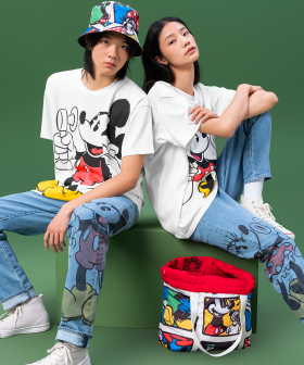 Disney & Levi's Have Teamed Up For A Super Nostalgic Collection