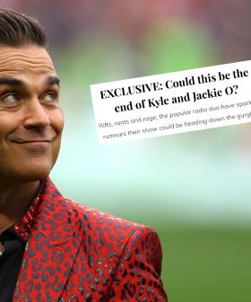 Robbie Williams Calls Out Australian Publication For False News