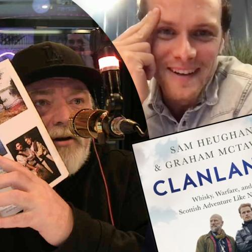 Kyle Slams Outlander's Sam Heughan New Book.. While He Can Hear Him!