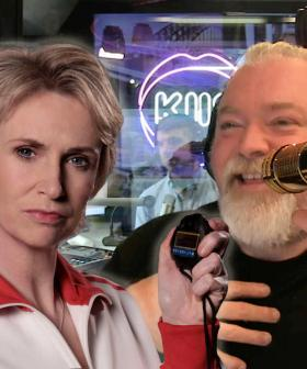 Glee Star Jane Lynch Gives Kyle A New Name And He's STOKED About It