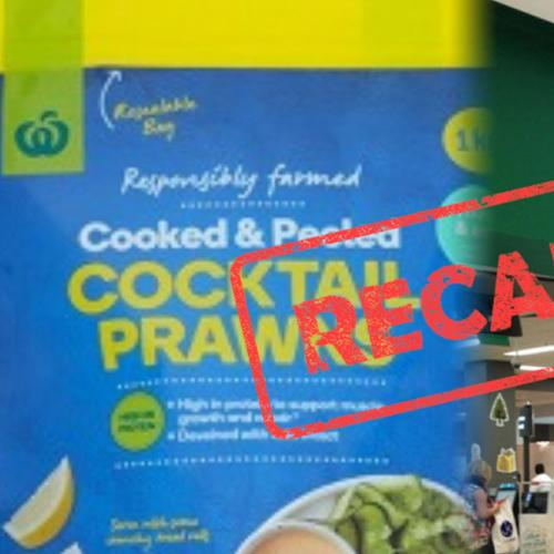 Woolworths Recall Popular Peeled Prawns Over Contamination & Illness Fears
