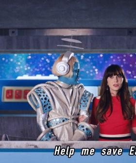 Zooey Deschanel Gets Abducted By Aliens in Katy Perry's New Futuristic Video!