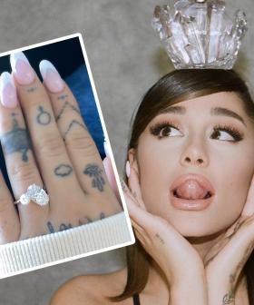 Ariana Grande Reveals She's Engaged Again!