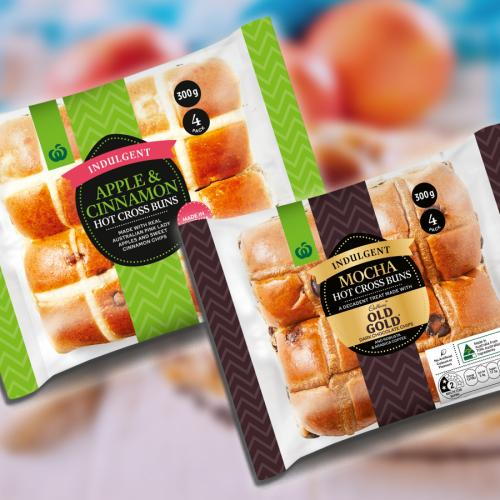 Woolies Has Revealed 2 Brand New Flavours Of Hot Cross Buns!