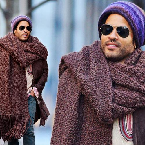 Lenny Kravitz Reveals What He Thinks Of His Hilarious Viral Scarf Moment