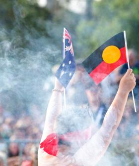 Protest And Pandemic Mark Sydney's Australia Day