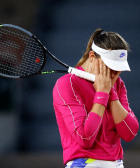 Tennis Star Who Complained About Quarantine Tests POSITIVE While In Hotel Lockdown