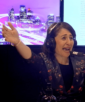 Premier Gladys Berejiklian Does Karaoke With Kyle & Jackie O & Her Song Choice Is NOT Surprising!