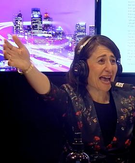 Premier Gladys Berejiklian Does Karaoke With Kyle & Jackie O & Her Song Choice Is NOT Surprising!