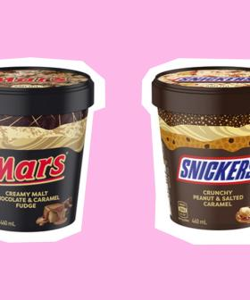 Mars & Snickers Ice Cream Tubs Are Real And Happening!