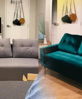 Check Out This Easy & Incredible $199 Kmart Sofa Transformation