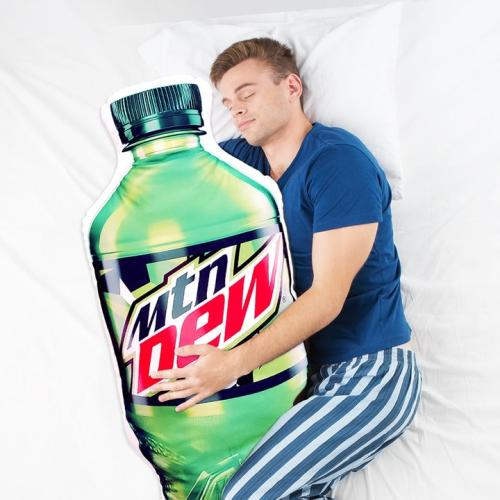 You Don't Have To Feel Single Anymore Coz An Official Mountain Dew Body Pillow Exists