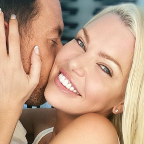 This Is What Happens When Sophie Monk's Fiancé Hijacks Her Interview