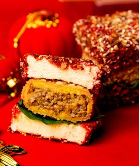Here's Where To Get A Savoury 'Vietnamese Curry Lamington' For Lunar New Year!