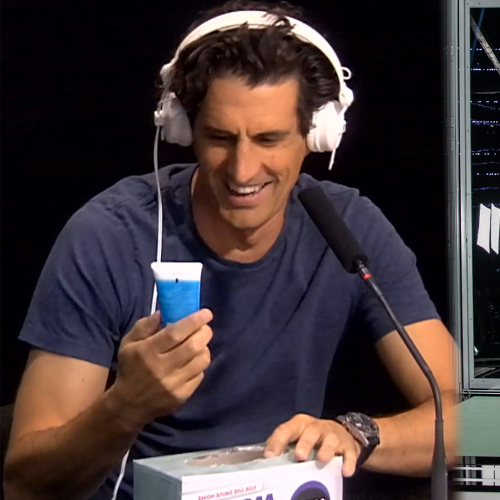 Why Is Andy Lee Using Lube For Hair Gel On The Project Tonight?