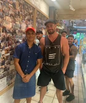 Chris Hemsworth Was SPOTTED At Your Local Chargrill Charlie's Sydney!