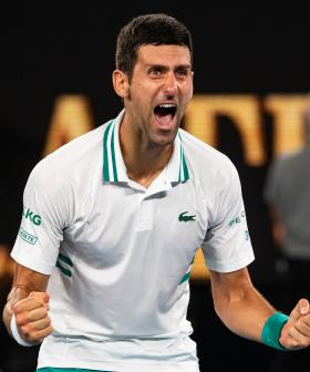 Djokovic Crushes Medvedev In Open Final