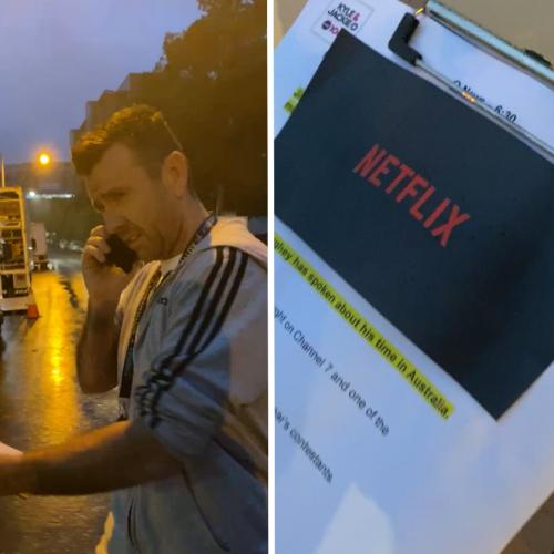 Intern Pete Sneaks Onto Local Film Set And Reveals 'Secret' Netflix Production With HUGE Star