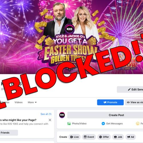 Help! Facebook Blocked Us! What's Going On?!