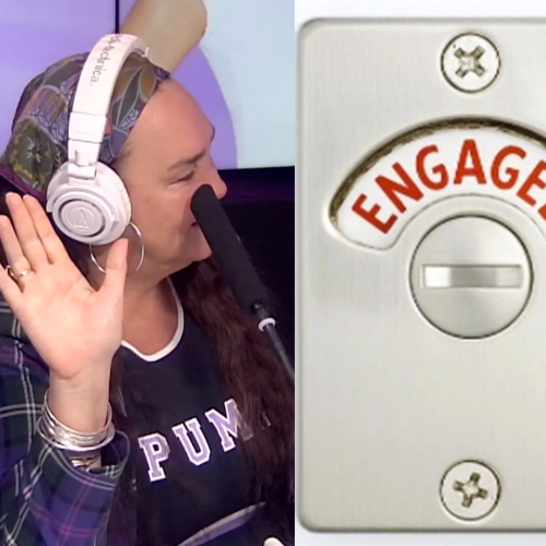 Kate Langbroek's Latest Moral Dilemma Has To Do With A... Toilet?