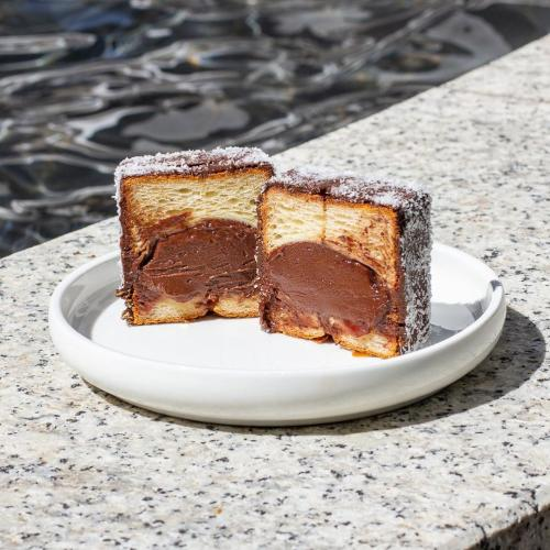 Ever Tried A Cube Shaped Lamington Croissant? This Sydney Cafe's Got You Covered.