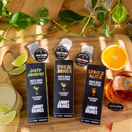 Jimmy Brings Has Released 'Booze Brew' Alcoholic Teabags!