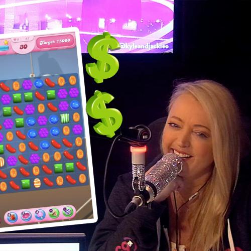 Jackie O Admits Jaw-Dropping Amount She's Been Spending On Her Candy Crush Addiction