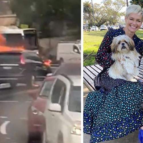 Jessica Rowe Reveals Heart-Stopping Moment Her Car Exploded On Highway