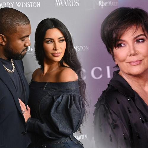 Kris Jenner Discusses How 'Hard' Kim & Kanye's Divorce Has Been As A Mother