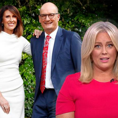 Kochie & Nat Barr Spill That They Didn't Know About Sam Armytage's Farewell Party