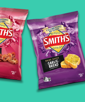 Smith's Are Bringing Back Garlic Bread, Bacon & Sausage Sizzle Chips