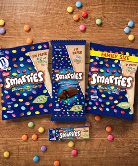 Nestlé's Smarties Becomes First Confectionary Brand To Have Fully Recyclable Packaging