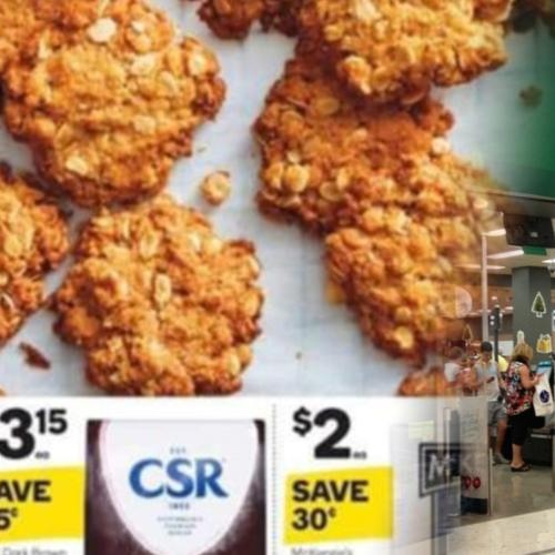 Woolworths Responds To Claims It Has CHANGED The Name Of Anzac Biscuits