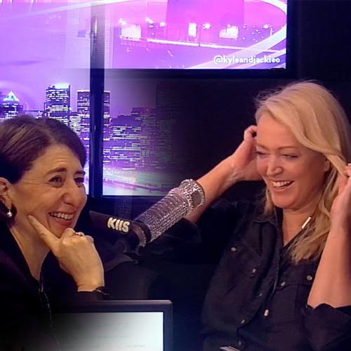 Premier Gladys Berejiklian And Jackie O Share Heartwarming Interaction
