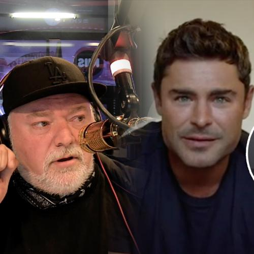Kyle Sandilands Confirms Truth About Zac Efron's 'Plastic Surgery' Rumours